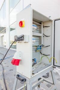 Baustrom Stromkasten