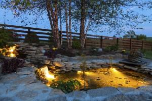Lampen-Garten